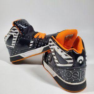 Vintage Osiris Jaw Skate Skateboard Shoes Size 5